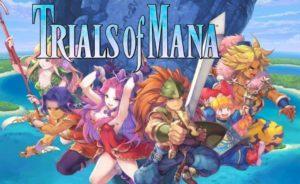 Trials of Mana - descargandolo